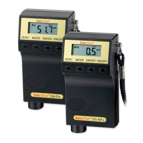 Rétegvastagságmérő - SaluTron D4 / D5 kisméretű készülék
