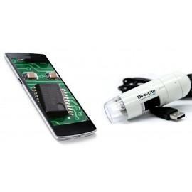 Mobiltelefonhoz csatlakoztatható digitális mikroszkóp