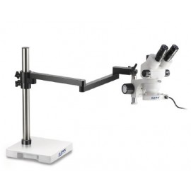 Zoom Sztereo mikroszkóp karos állvánnyal - KERN OZM-95 széria