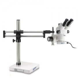 Zoom Sztereo mikroszkóp dupla oszlopos állvánnyal - KERN OZM-93 széria