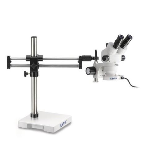 Dupla oszlopos állványos Zoom Sztereo mikroszkóp - KERN OZM-93 széria