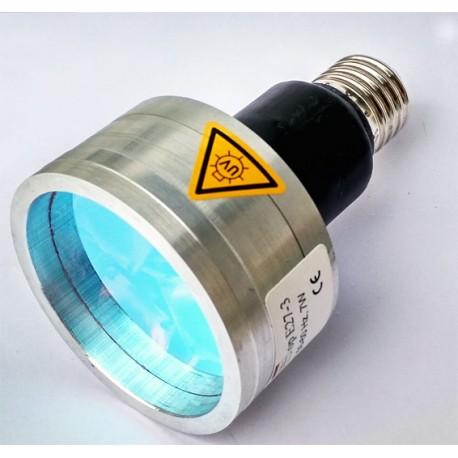OP UV E27-3 ipari UV LED izzó - E27 foglalattal
