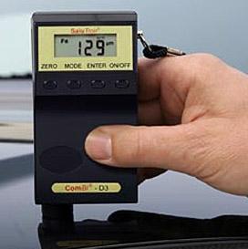 rétegvastagságmérő