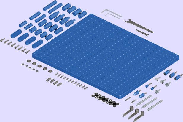 ALUMESS junior kit B