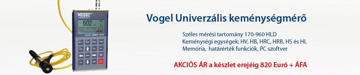 Vogel Univerzális hordozható keménységmérő