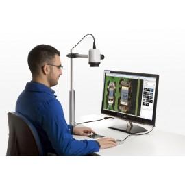HD videó mikroszkóp - Optilia M30x állvánnyal és kezelőegységgel
