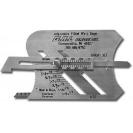 G.A.L. Adjustable Fillet varratmérő