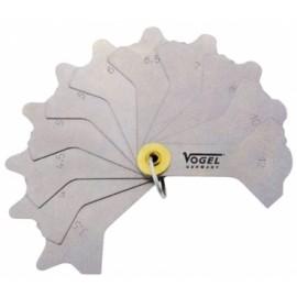 Vogel hegesztési varratmérő 474401 3-12mm 12 részes
