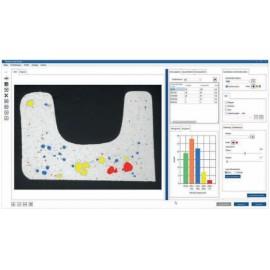 Metallográfiai szoftver - Fázis analízis és porozitás elemzés