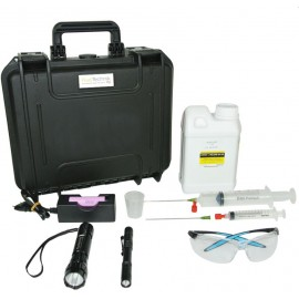 Fluotechnik Pack PRO 1L, UV lámpakészlet + reagens anyag olajszármazékokhoz