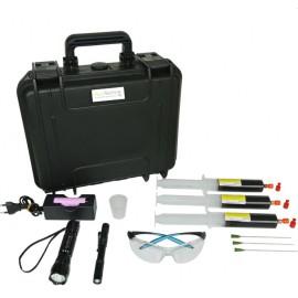 Fluotechnik Pack PRO 3x50ml UV lámpakészlet + reagens anyag olajszármazékokhoz