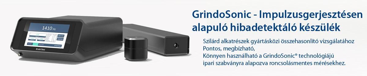 GrindoSonic® MK7 - Impulzusgerjesztésen alapuló hibadetektáló készülék